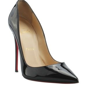 Christian Louboutin So Kate Leather Pumps(144363)